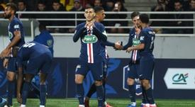 Leandro Paredes podría sustituir a Arthur en la lista de la compra de la Juve. AFP