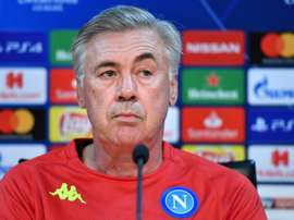 Naples Carlo Ancelotti. AFP