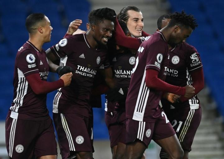 Al Leicester le sale competencia por Toney. AFP