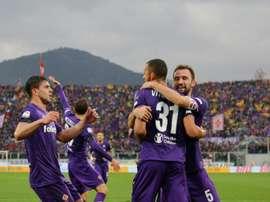 El central de la Fiorentina charló de la muerte de su compañero. AFP