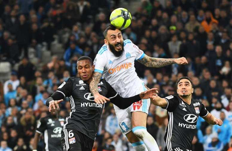 Mitroglou a eu une aventure compliquée à Marseille. AFP