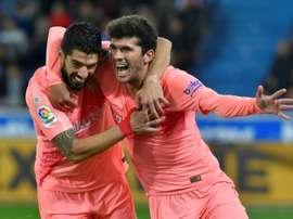 Aleñá não está sendo utilizado no Barcelona. AFP