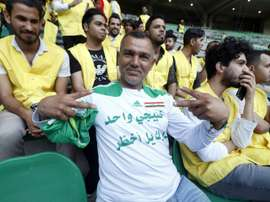 L'Irak veut retrouver son football. AFP