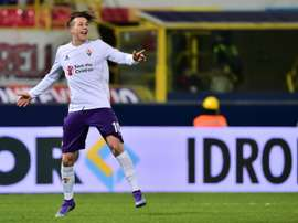 Bernardeschi gusta, y mucho, al Inter. AFP