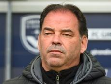 L'entraîneur d'Angers, Stéphane Moulin, prolongé jusqu'en 2022. AFP