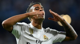 L'attaquant du Real Madrid Mariano. AFP