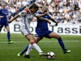Rien n'est joué pour les Lyonnaises. AFP