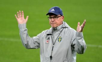 Andersson apoyó a Luis Enrique: