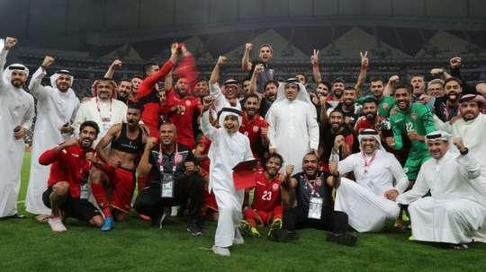 Bahreïn envoie pour la première fois en deux ans ses supporters de foot au Qatar. AFP
