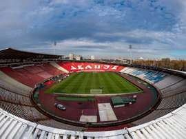 Le championnat de football serbe reprend le 30 mai. AFP