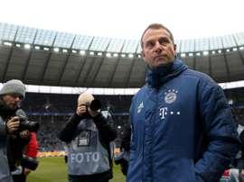 Flick et ses guerriers, hommes clés du nouveau Bayern. AFP