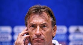 Hervé Renard deja de ser entrenador de Marruecos. AFP