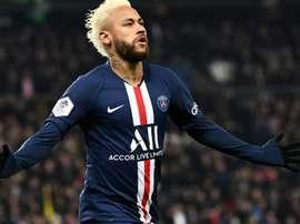 Neymar será a estrela de documentário da Netflix. AFP