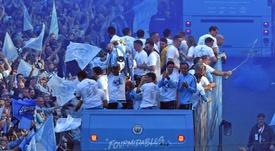 Manchester City va recruter un jeune serbe. afp