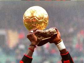 George Weah- the only African winner of the Ballon d'Or. AFP
