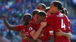 Les compos probables du match de Premier League entre Liverpool et Huddersfield. AFP