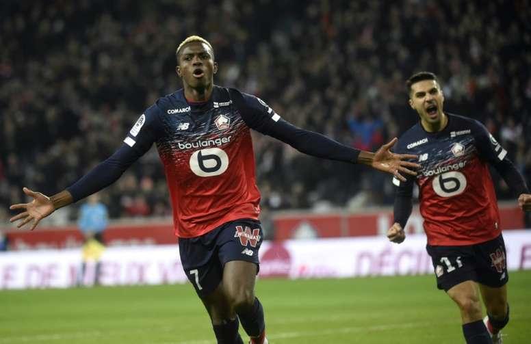 El Lille se ha impuesto al Montpellier. AFP/Archivo