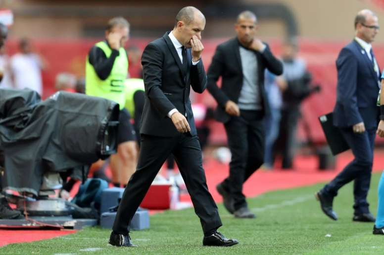 Leonardo Jardim was relieved of his duties by the Ligue 1 club on Thursday. AFP
