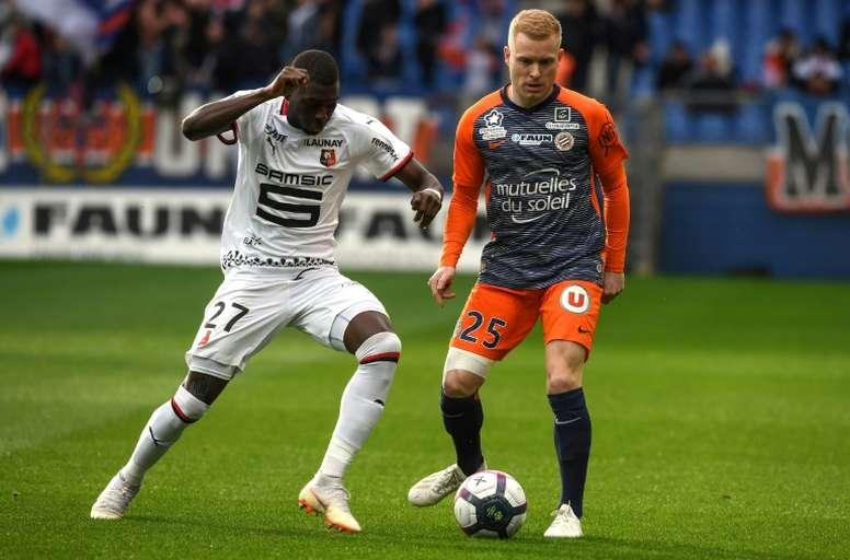 Hamari Traoré suena para jugar en la Liga Española. AFP