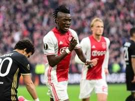 O Ajax bateu o Lyon de forma clara e aproximou-se da final. AFP
