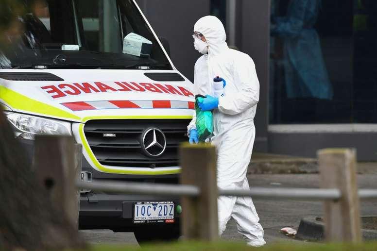 Les footballeurs de Melbourne pris de court par le reconfinement. AFP