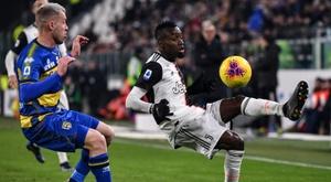 Permanência de Blaise Matuidi na Juventus estaria acertada. AFP