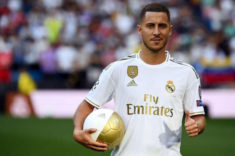 Hazard le pidió a Modric el '10'. AFP
