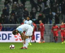 Marsiglia nel baratro. AFP