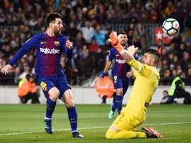 Lionel Messi encore décisif. AFP