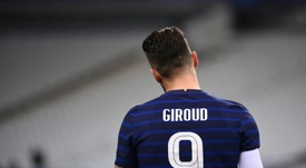 Olivier Giroud has not had consistent game time this year at Chelsea. AFP