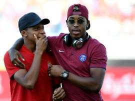 Kimpembe is in line for a shock start against Real. AFP