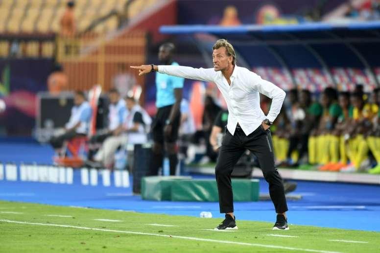 'France Football' asegura que Hervé Renard dimitirá. AFP