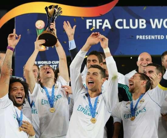 Le Real Madrid va jouer sa demi-finale. AFP