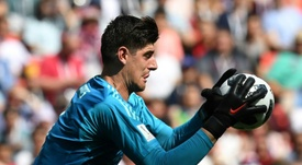 Thibaut Courtois could be a Madrid player soon. AFP