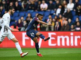 Nkunku scored twice on his second Ligue 1 start. AFP