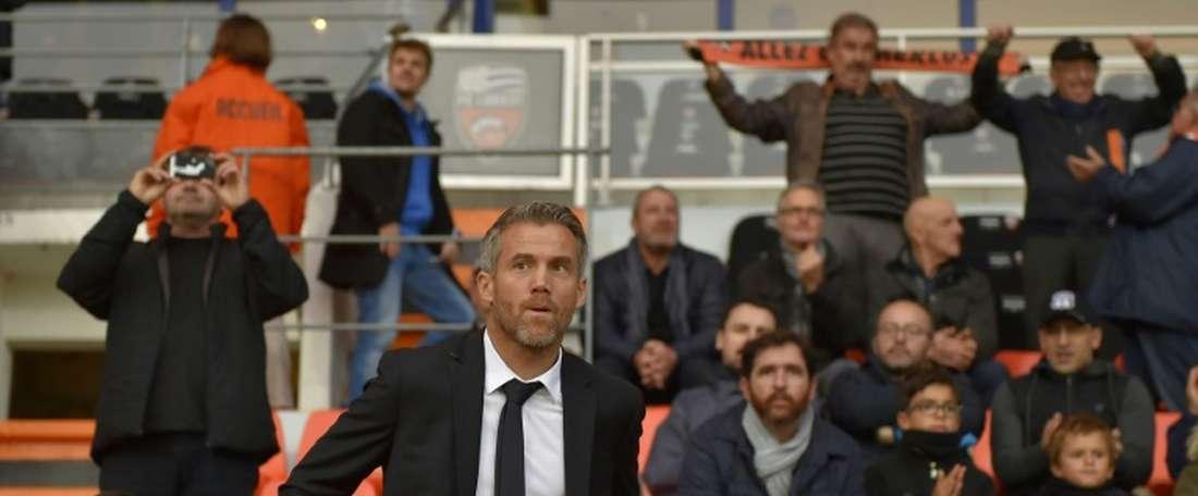 Mickaël Landreau et ses hommes laissent passer une belle occasion. AFP