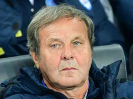 Jan Kozak abandonó su cargo como seleccionador de Eslovaquia. AFP