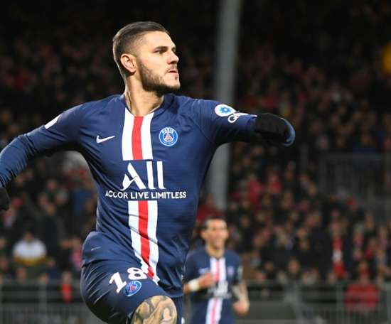 Icardi has signed for PSG. AFP