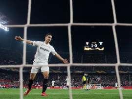 Ben Yedder, tenté par les clubs européens. AFP
