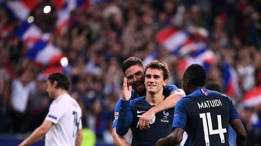 Griezmann semble être le favori des Français. AFP