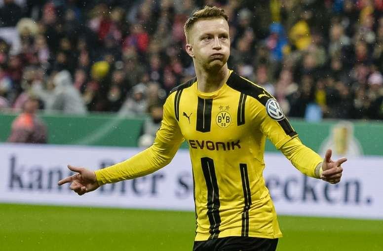 Reus suggested he could leave Dortmund next season. AFP