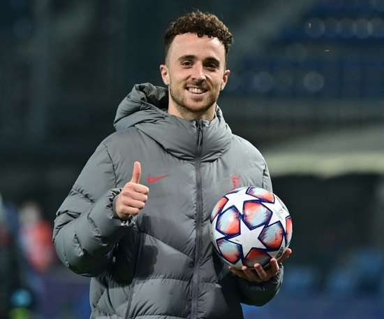 Diogo Jota is in 'frightening' form at Liverpool. AFP