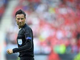 Clattenburg will be giving his referee insight for the World Cup. AFP