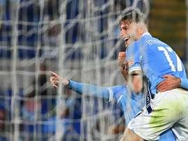 L'Inter, la Lazio et la Sampdoria gagnent et remontent. AFP