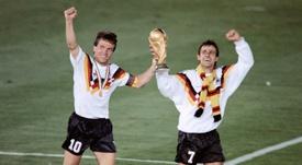 Lothar Matthäus explotó tras la goleada de España a Alemania. AFP