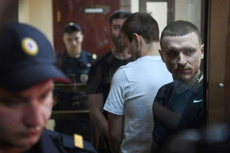 Mamaev y Kokorin quedaron en libertad antes de lo previsto. AFP/Archivo