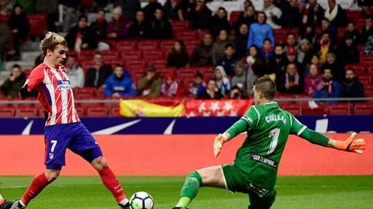 Cuéllar ha encajado 12 goles en lo que va de campaña. AFP