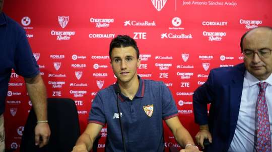 Corchia a été présenté par Séville. AFP