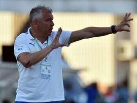 O português não tem tido uma carreira brilhante como treinador. AFP