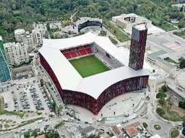 UEFA: Tirana accueillera en 2022 la finale de la troisième Coupe d'Europe des clubs. AFP